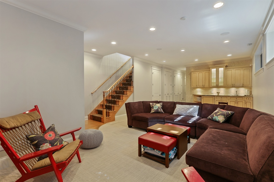 Real Estate Photography - 1532 W. WOLFRAM Street, Chicago, IL, 60657 - Lower Level