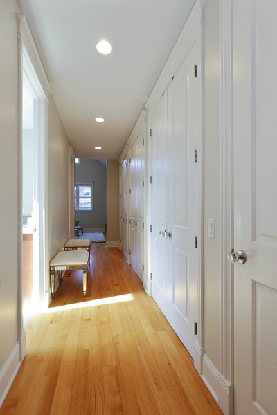 Real Estate Photography - 1532 W. WOLFRAM Street, Chicago, IL, 60657 - Master Bedroom Closet