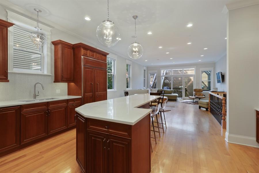 Real Estate Photography - 1532 W. WOLFRAM Street, Chicago, IL, 60657 - Kitchen
