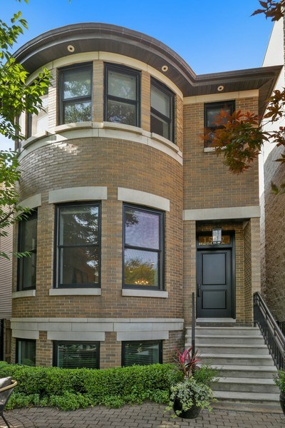 Real Estate Photography - 1532 W. WOLFRAM Street, Chicago, IL, 60657 - Front View