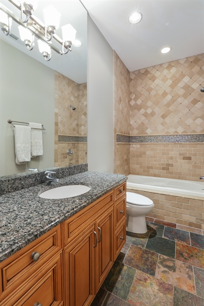 Real Estate Photography - 1532 W. WOLFRAM Street, Chicago, IL, 60657 - 3rd Bathroom