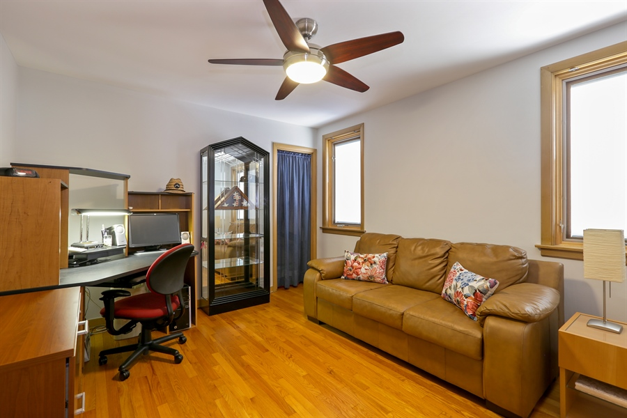 Real Estate Photography - 4933 N. Natchez Avenue, Chicago, IL, 60656 - 2nd Bedroom