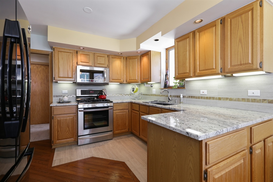 Real Estate Photography - 4933 N. Natchez Avenue, Chicago, IL, 60656 - Kitchen
