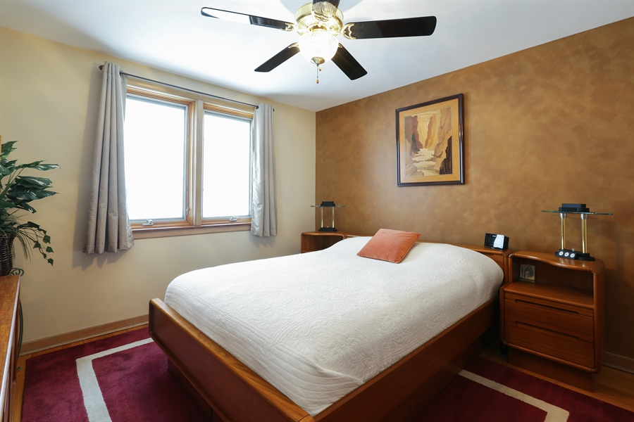 Real Estate Photography - 4933 N. Natchez Avenue, Chicago, IL, 60656 - Master Bedroom
