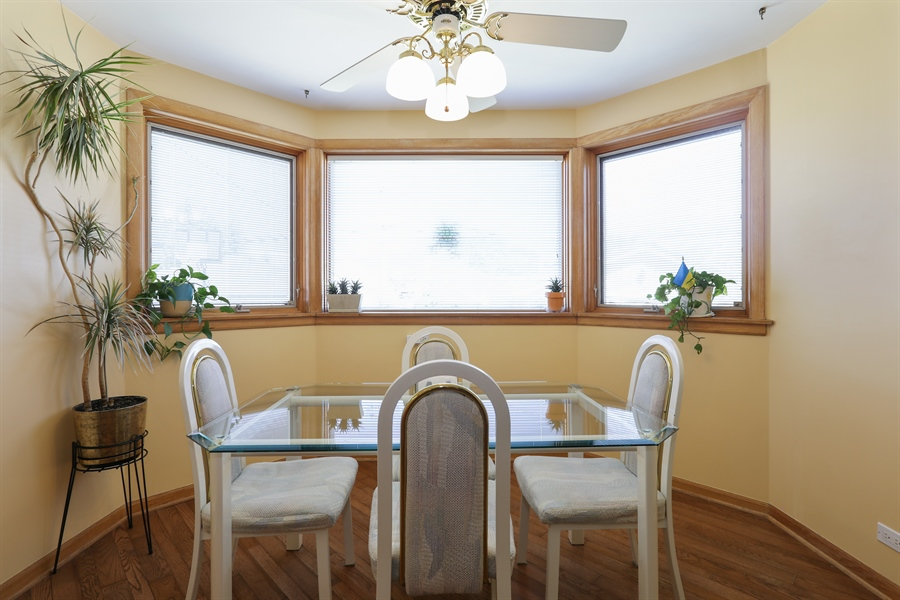 Real Estate Photography - 4933 N. Natchez Avenue, Chicago, IL, 60656 - Dining Room