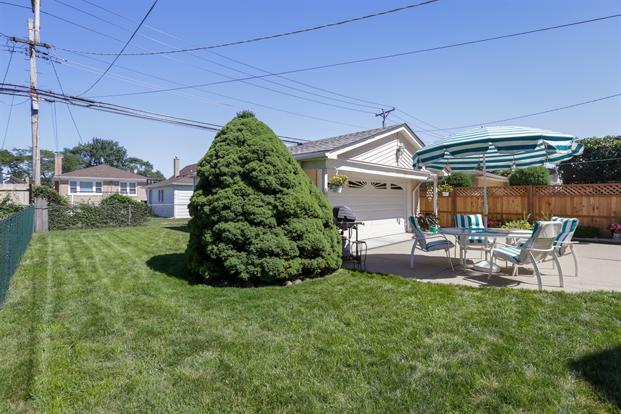 Real Estate Photography - 4933 N. Natchez Avenue, Chicago, IL, 60656 - Back Yard