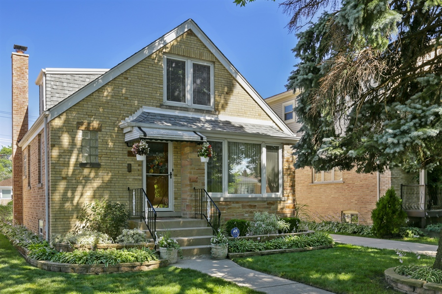 Real Estate Photography - 4933 N. Natchez Avenue, Chicago, IL, 60656 - Front View