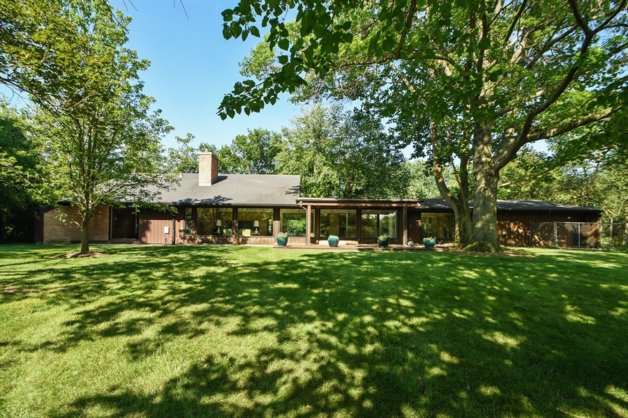 Real Estate Photography - 98 Graymoor Lane, Olympia Fields, IL, 60461 - Rear View