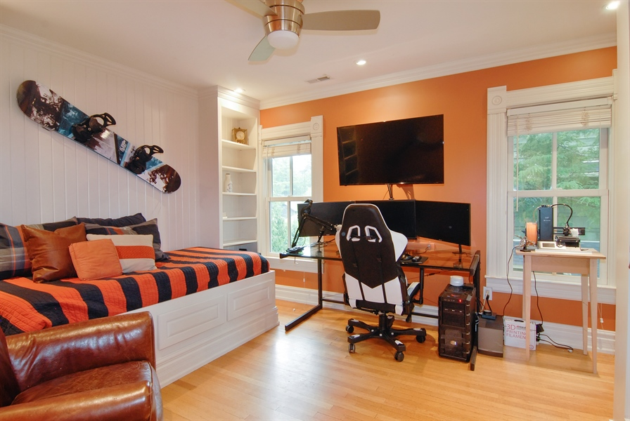 Real Estate Photography - 119 N. Wright Street, Naperville, IL, 60540 - Bedroom 3