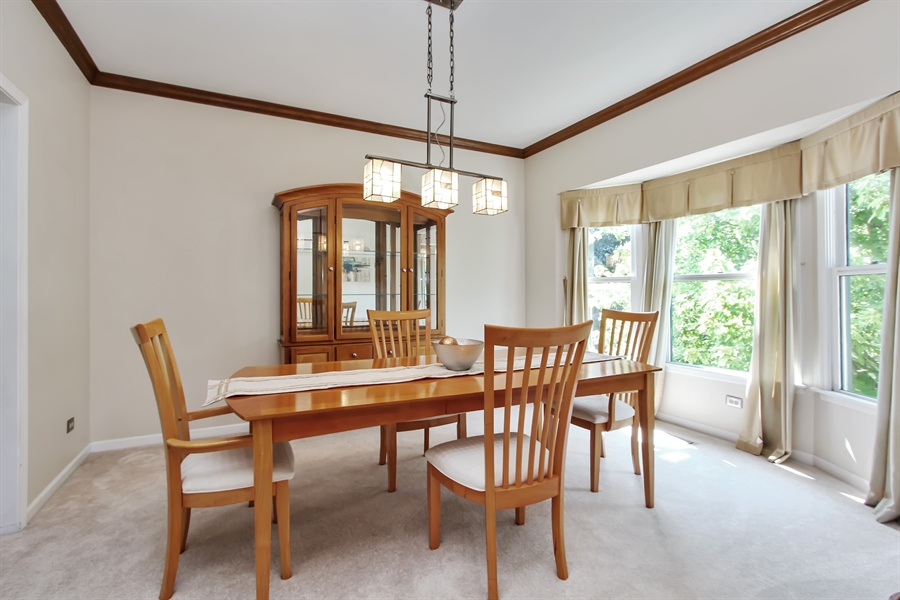 Real Estate Photography - 3541 Lakeview Drive, Algonquin, IL, 60102 - Dining Room