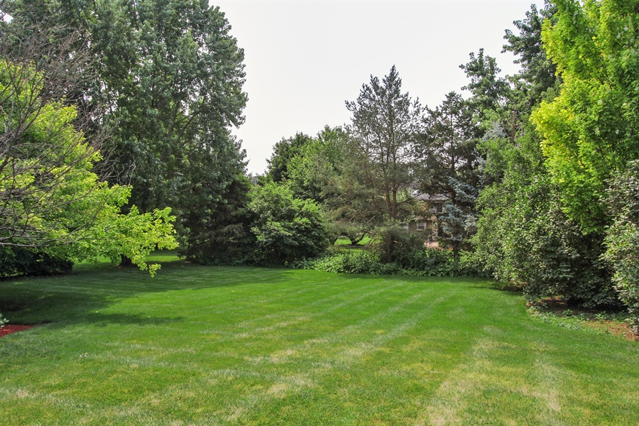 Real Estate Photography - 3541 Lakeview Drive, Algonquin, IL, 60102 - Back Yard