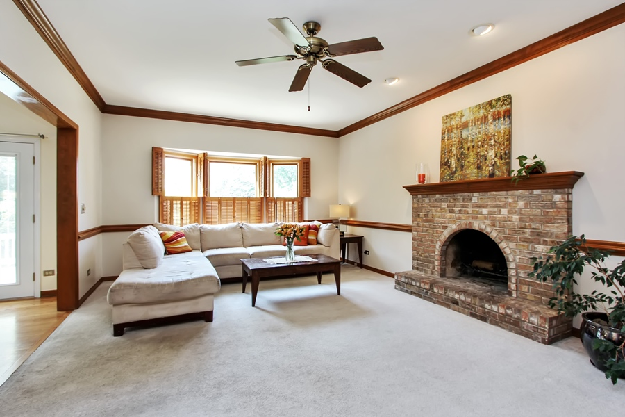 Real Estate Photography - 3541 Lakeview Drive, Algonquin, IL, 60102 - Family Room