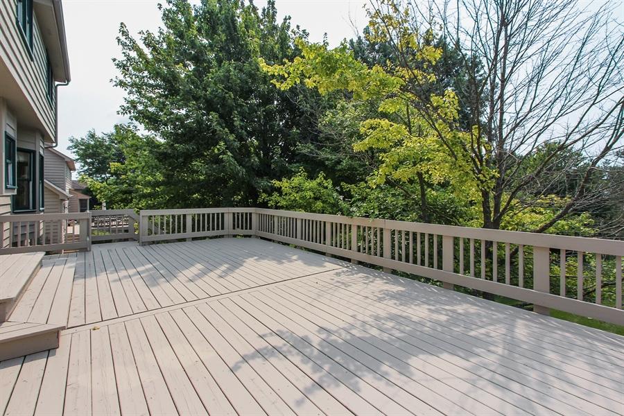 Real Estate Photography - 3541 Lakeview Drive, Algonquin, IL, 60102 - Deck