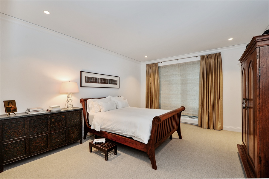 Real Estate Photography - 840 N. LAKE SHORE Drive, Unit 703, Chicago, IL, 60611 - Master Bedroom