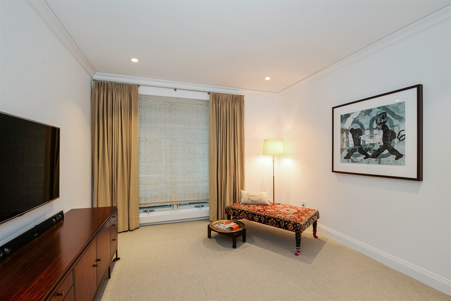 Real Estate Photography - 840 N. LAKE SHORE Drive, Unit 703, Chicago, IL, 60611 - Bedroom