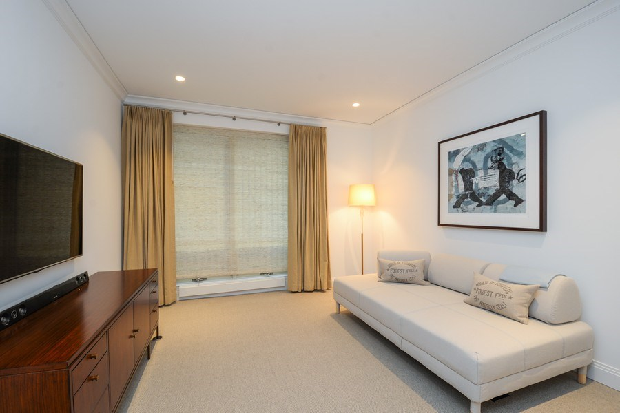 Real Estate Photography - 840 N. LAKE SHORE Drive, Unit 703, Chicago, IL, 60611 - 3rd Bedroom