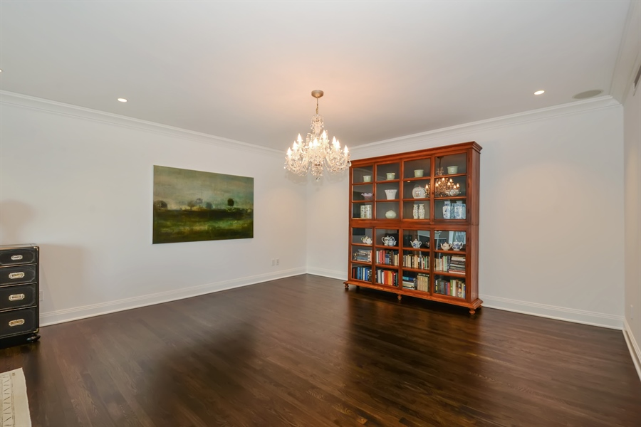 Real Estate Photography - 840 N. LAKE SHORE Drive, Unit 703, Chicago, IL, 60611 - Dining Room