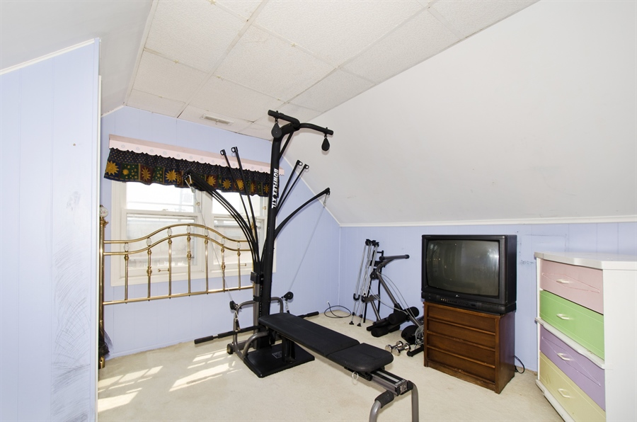 Real Estate Photography - 4715 N. Oconto Avenue, Harwood Heights, IL, 60706 - 3rd Bedroom