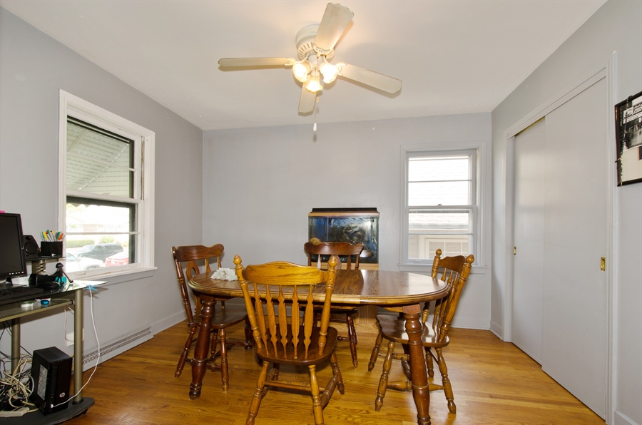 Real Estate Photography - 4715 N. Oconto Avenue, Harwood Heights, IL, 60706 - Dining Room