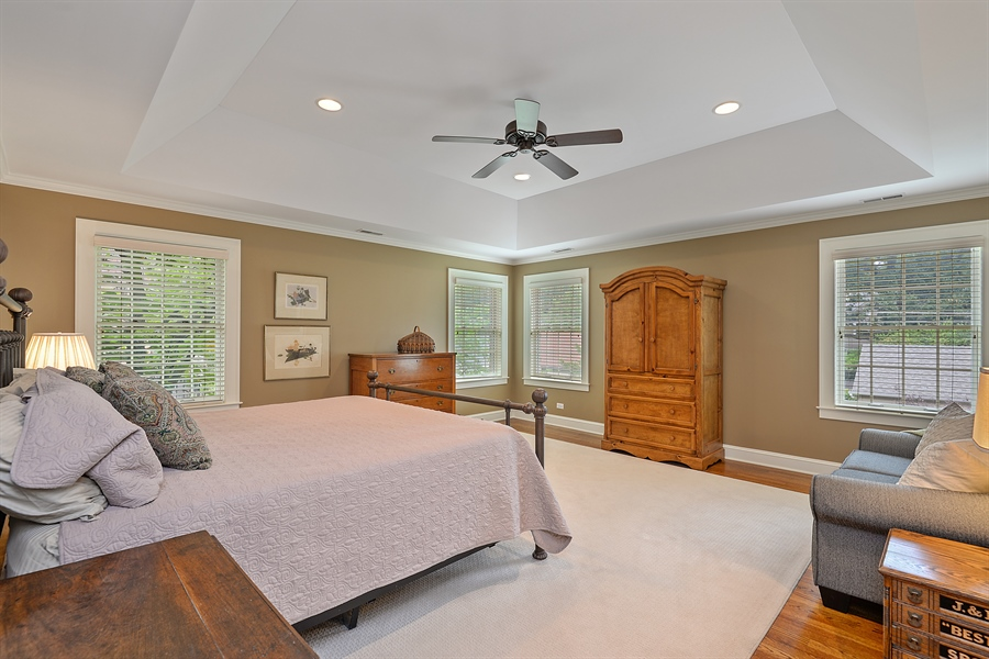 Real Estate Photography - 2715 Noyes Street, Evanston, IL, 60201 - Master Bedroom