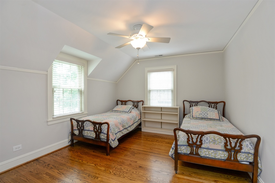 Real Estate Photography - 2715 Noyes Street, Evanston, IL, 60201 - 2nd Bedroom