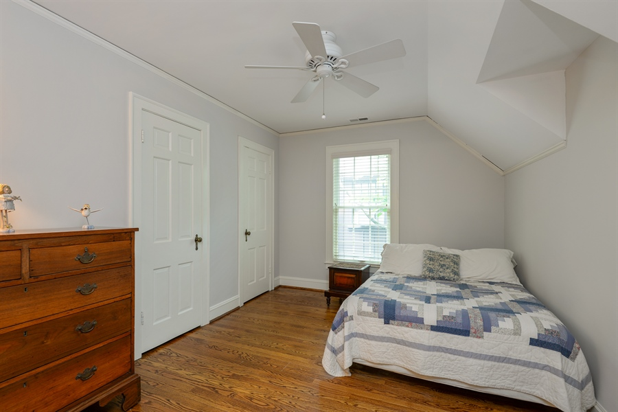 Real Estate Photography - 2715 Noyes Street, Evanston, IL, 60201 - 3rd Bedroom