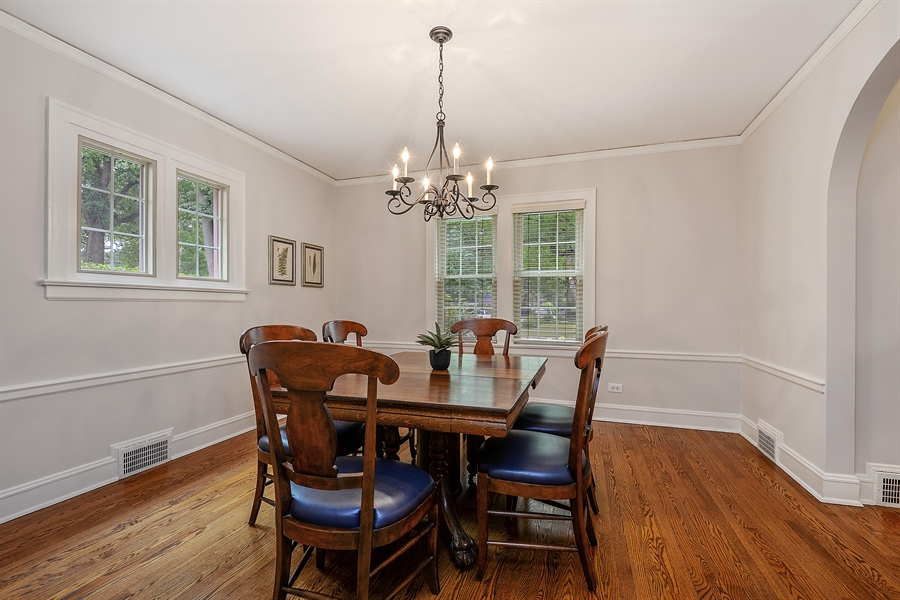 Real Estate Photography - 2715 Noyes Street, Evanston, IL, 60201 - Dining Room