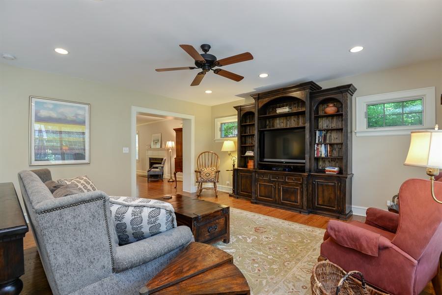Real Estate Photography - 2715 Noyes Street, Evanston, IL, 60201 - Family Room