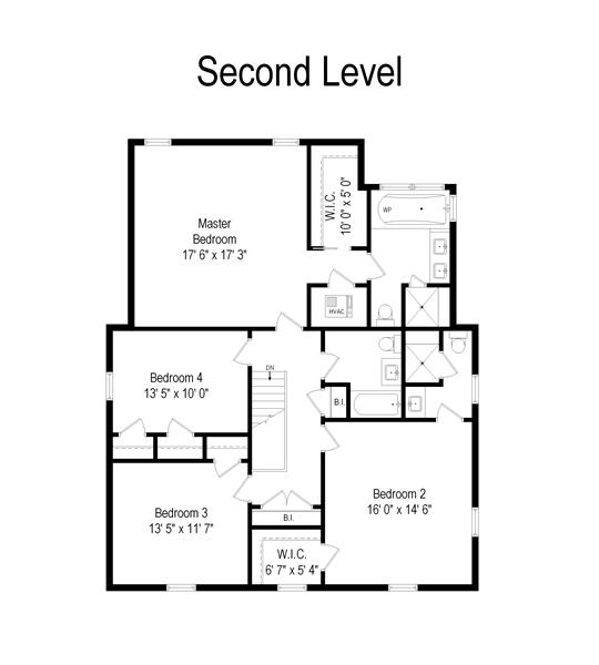 Real Estate Photography - 2715 Noyes Street, Evanston, IL, 60201 - Floor Plan