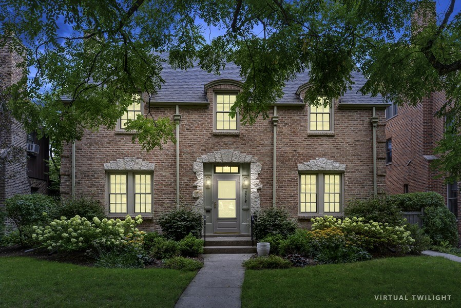 Real Estate Photography - 2715 Noyes Street, Evanston, IL, 60201 - Front View