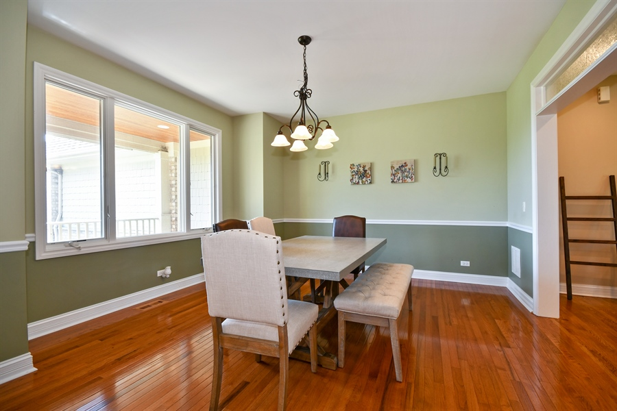 Real Estate Photography - 1N132 Blackberry Crossing Circle, Elburn, IL, 60119 - Dining Room