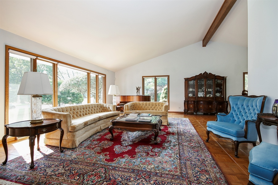 Real Estate Photography - 69 Graymoor Lane, Olympia Fields, IL, 60461 - Living Room
