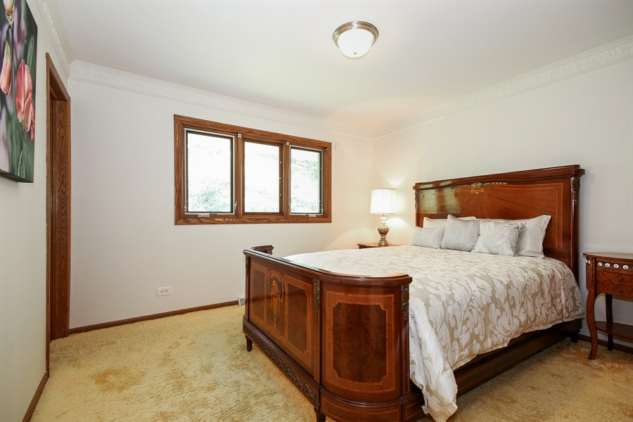 Real Estate Photography - 69 Graymoor Lane, Olympia Fields, IL, 60461 - Bedroom 2
