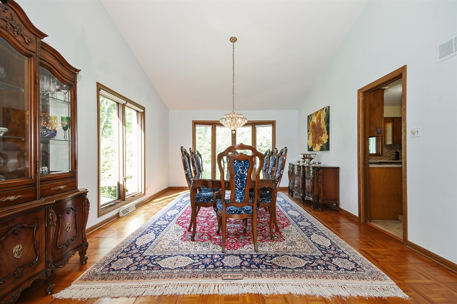 Real Estate Photography - 69 Graymoor Lane, Olympia Fields, IL, 60461 - Dining Room