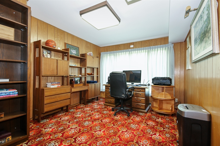 Real Estate Photography - 69 Graymoor Lane, Olympia Fields, IL, 60461 - Office