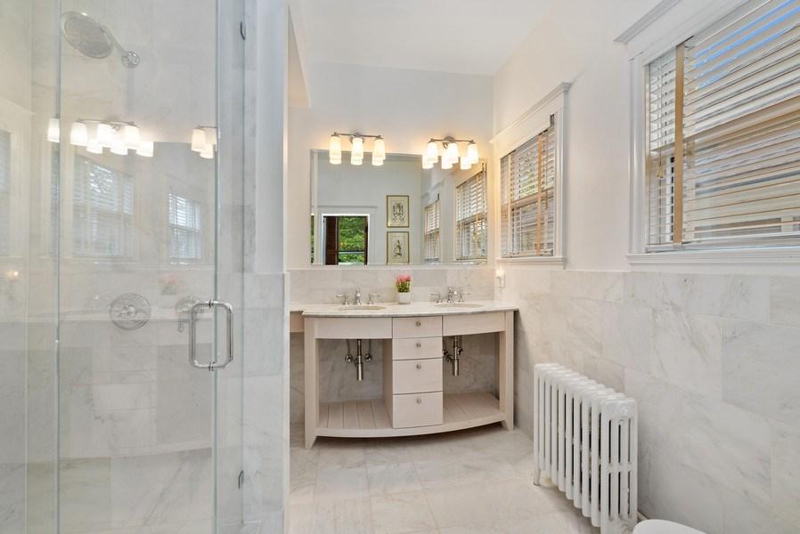 Real Estate Photography - 5344 N. Wayne Avenue, Chicago, IL, 60640 - Master Bathroom