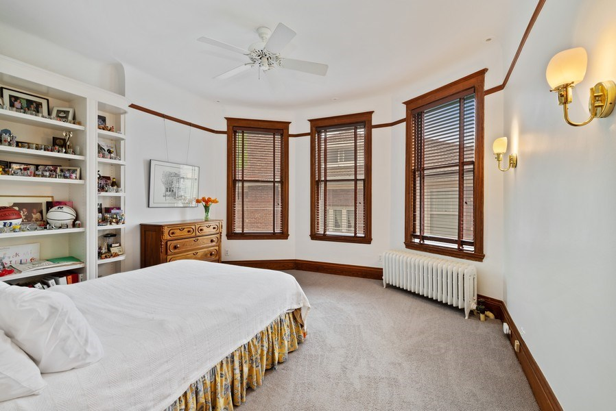 Real Estate Photography - 5344 N. Wayne Avenue, Chicago, IL, 60640 - 2nd Bedroom