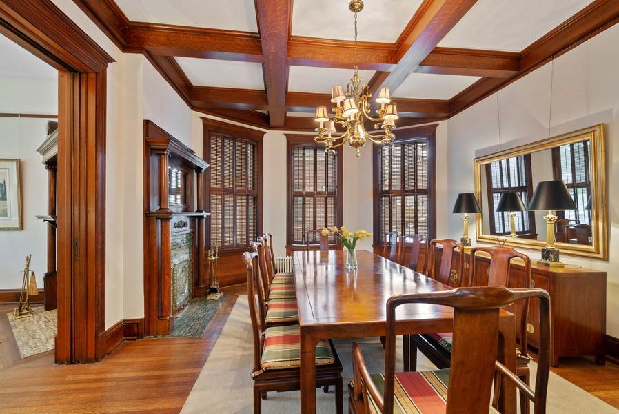 Real Estate Photography - 5344 N. Wayne Avenue, Chicago, IL, 60640 - Dining Room