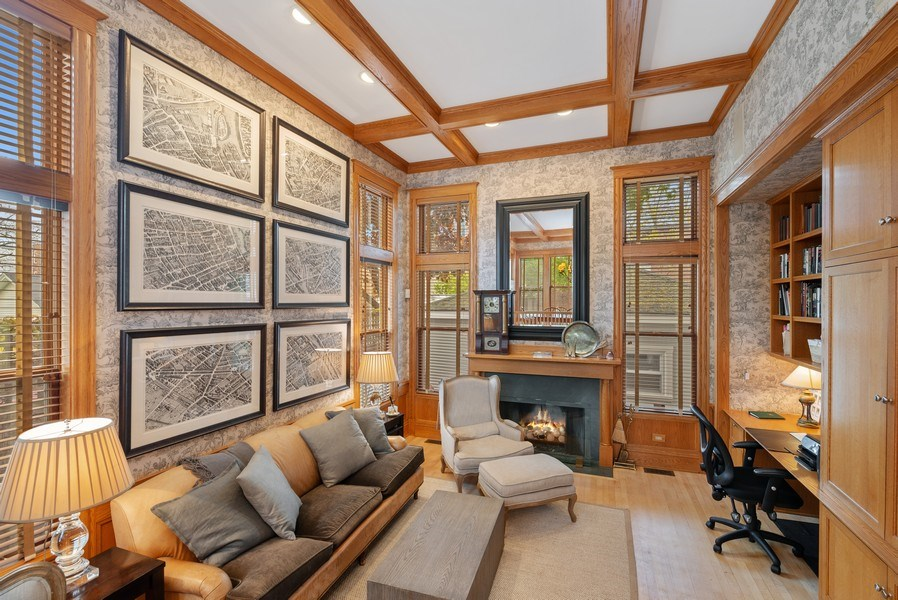 Real Estate Photography - 5344 N. Wayne Avenue, Chicago, IL, 60640 - Family Room