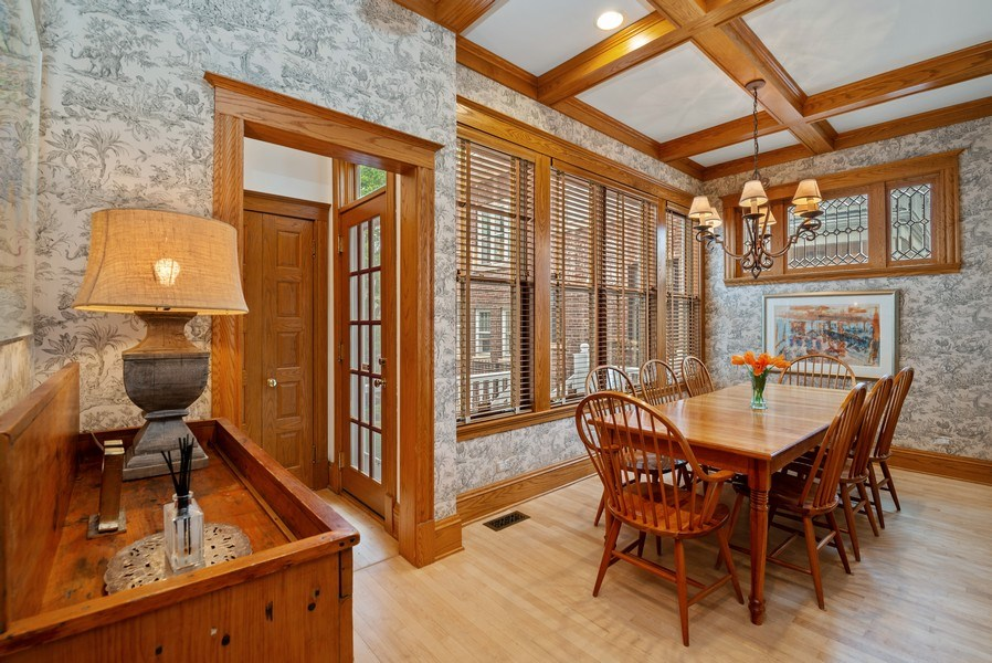 Real Estate Photography - 5344 N. Wayne Avenue, Chicago, IL, 60640 - Informal Dining Room off of Great Room