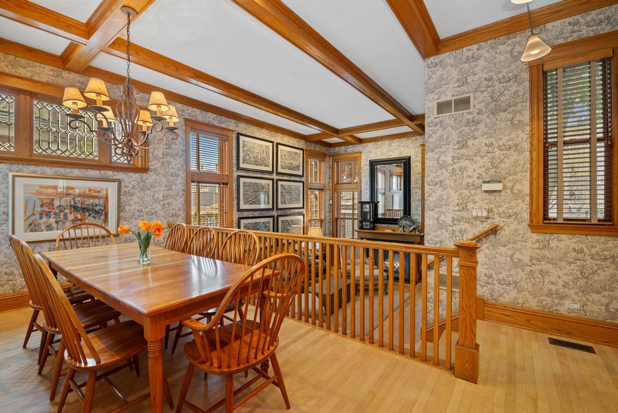 Real Estate Photography - 5344 N. Wayne Avenue, Chicago, IL, 60640 - Informal Dining Area off of Great Room