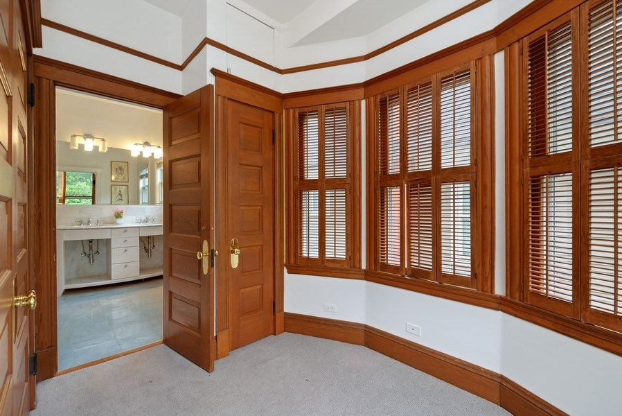 Real Estate Photography - 5344 N. Wayne Avenue, Chicago, IL, 60640 - Master Bedroom Walk-In Closet & Dressing Room