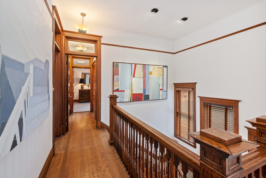Real Estate Photography - 5344 N. Wayne Avenue, Chicago, IL, 60640 - Hallway