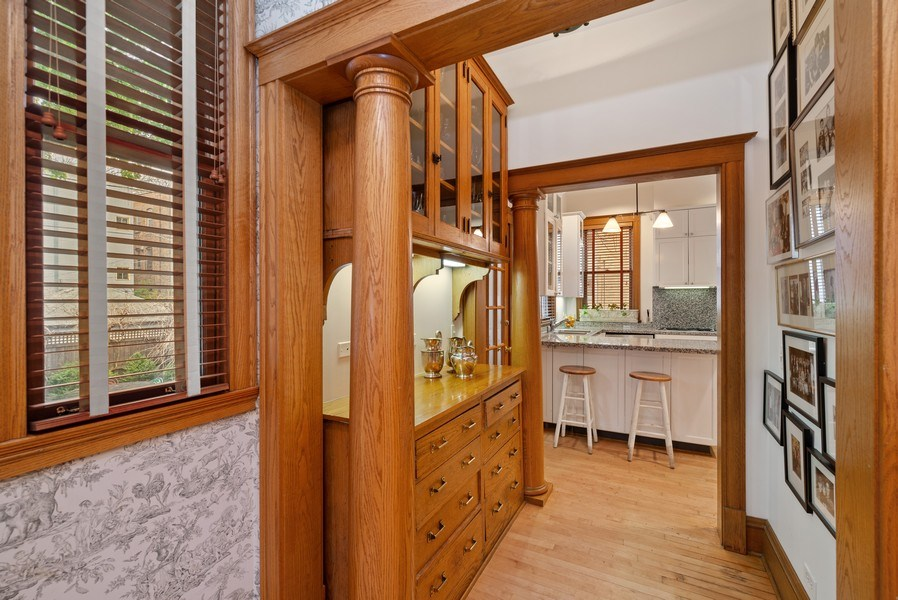 Real Estate Photography - 5344 N. Wayne Avenue, Chicago, IL, 60640 - Pantry