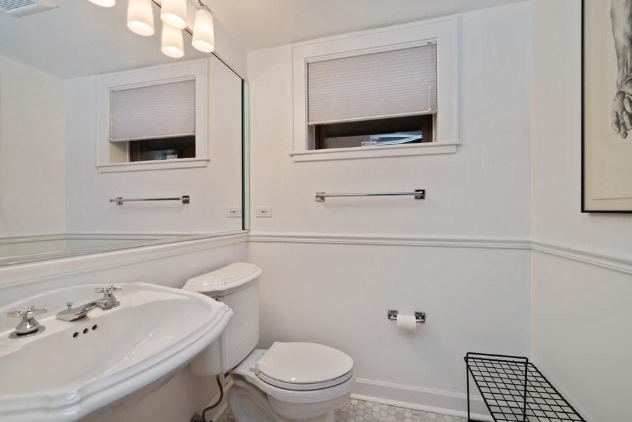 Real Estate Photography - 5344 N. Wayne Avenue, Chicago, IL, 60640 - Lower Level Bathroom