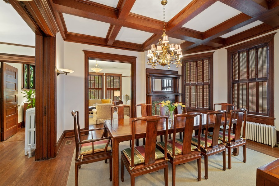 Real Estate Photography - 5344 N. Wayne Avenue, Chicago, IL, 60640 - Living Room / Dining Room