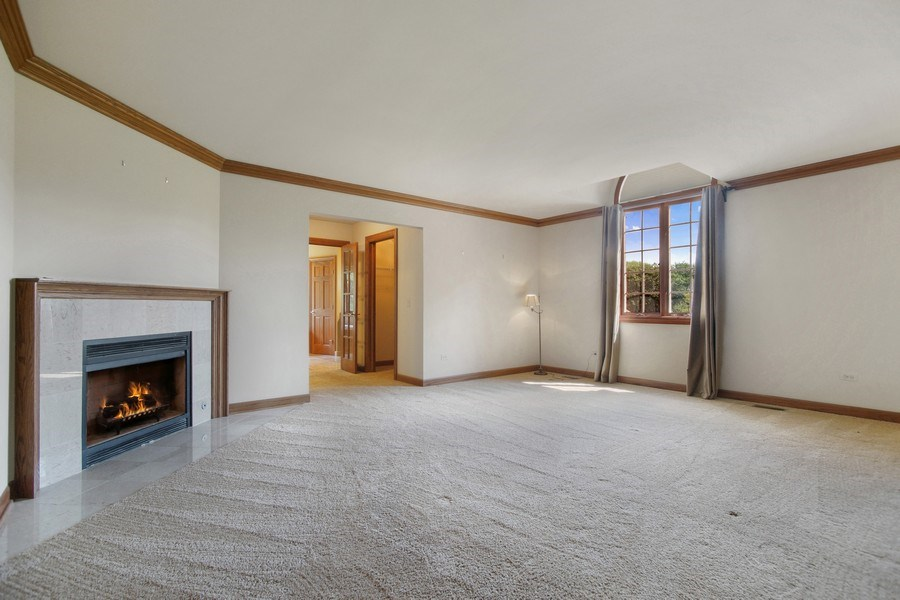 Real Estate Photography - 712 Milton Road, Inverness, IL, 60067 - Master Bedroom