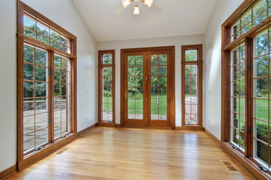 Real Estate Photography - 712 Milton Road, Inverness, IL, 60067 - Sun Room