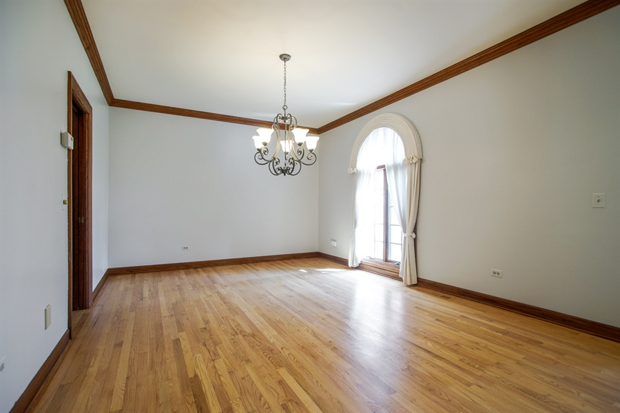 Real Estate Photography - 712 Milton Road, Inverness, IL, 60067 - Dining Room