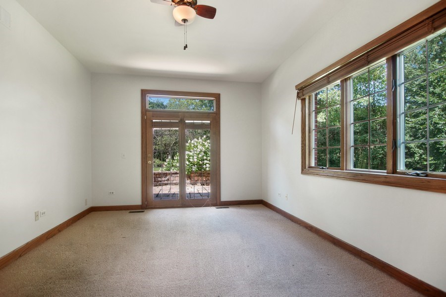 Real Estate Photography - 712 Milton Road, Inverness, IL, 60067 - Office
